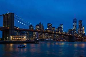 Manhattan at Night photo