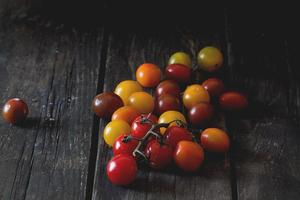 Assortment of cherry tomatoes