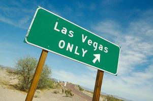 Las Vegas Sign Pointing to Fun - 3 photo