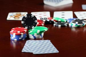 poker chips Cards photo