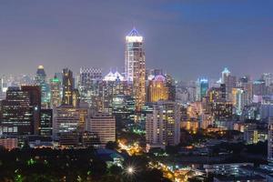 horizonte de bangkok foto
