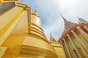 golden pagoda, Grand Palace, Bangkok, Thailand