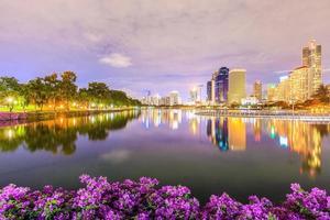 parque benjasiri bangkok foto