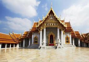 Bangkok. The marble temple. photo