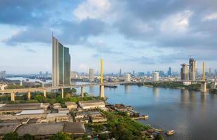 Chao-Phra-Ya River , Bangkok , Thailand photo