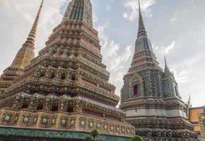 templo de wat pho bangkok tailandia