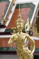 Kinnara at Wat Phra Si Rattana Satsadaram photo