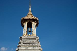 Tower at Wat Phra Kaeo photo