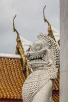 he Marble Temple, Wat Benchamabopit Dusitvanaram in Bangkok, Tha photo
