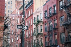 Residential buildngs in West Village