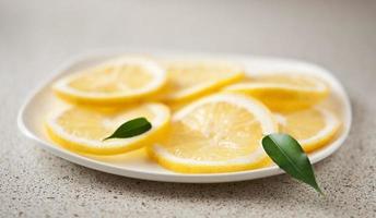 limones frescos foto