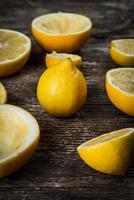 Fresh lemons photo