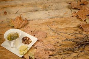 Lemon tea photo