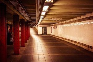 Subway in New York City!. So futuristic