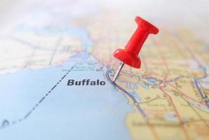 mapa de búfalo