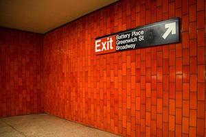 metro de Nueva York foto