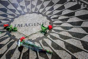 Imagine Memorial in Strawberry Fields