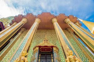 Wat Phra Kaew en Bangkok - Templo del Buda de Esmeralda