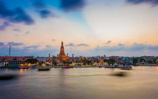 wat arun temple bangkok thailand photo