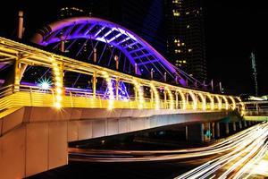 bts brt sky bridge bangkok thaïlande