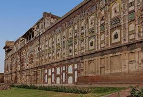 external walls of Lahore fort
