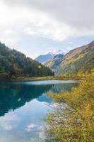 parque nacional de jiuzhaigou en china