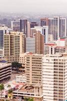 View on central business district of Nairobi