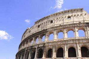 antiguo coliseo, roma, italia foto
