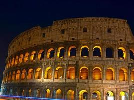 Colosseum at night photo