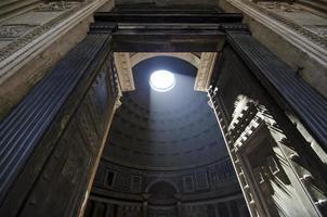 Entrada del panteón, Roma Italia