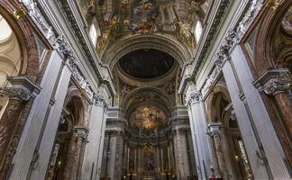 Iglesia de Sant ignazio, Roma, Italia foto