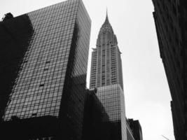 Chrysler Building, New York City Black and White