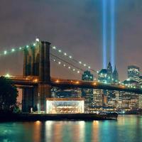 noche de la ciudad de nueva york foto