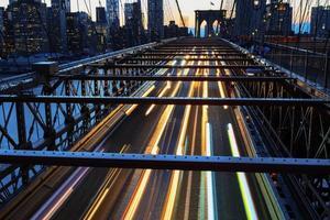 New York City at night. photo