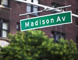 Madison Avenue photo