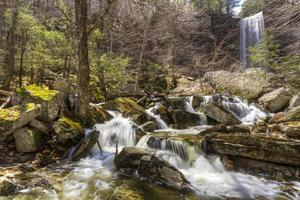 Spring at Stony Kill Falls photo