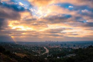 Los Angeles from the Hollywood Bowl Overlook photo