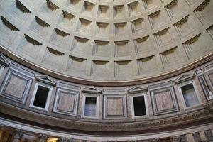 Pantheon Oculus in Rome, Italy. photo