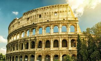 Colosseum (Coliseum) in Rome photo