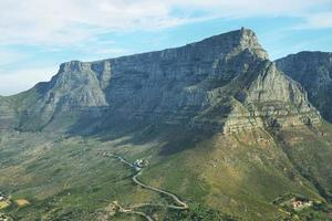 Table Mountain in Cape Town photo