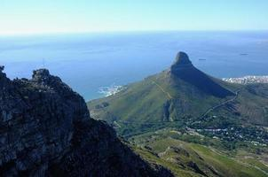 Majestic Views of Lions Head, Robben Island and Camps Bay. photo