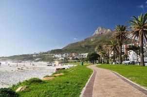 Lion's Head seen from Camps Bay - Cape Town, SA