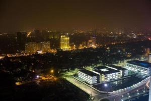 Hanoi de noche foto
