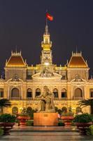 El ayuntamiento de Ho Chi Minh, Vietnam