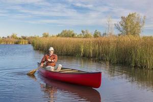 tarde canoa remando