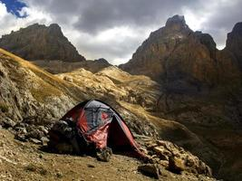 Camping On The Mountain