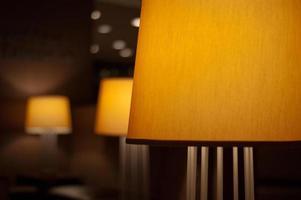lâmpadas do lobby