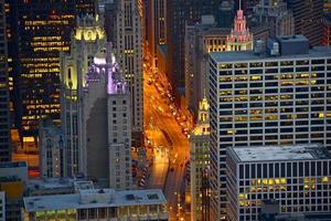 Michigan Avenue Chicago photo