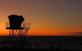 torre de salvavidas foto