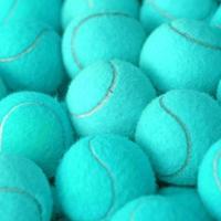 bola de tênis como plano de fundo do esporte